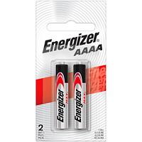 Piles alcalines AAAA longue durée Energizer Max, emb. de 2 (E96BP2-1)