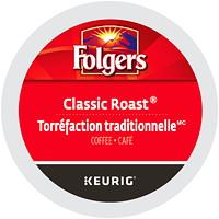Dosettes K-Cup de café Folgers, torréfaction traditionnelle, boîte de 24