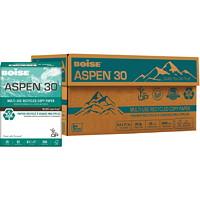 Papier recyclé à usages multiples Aspen 30 Boise, 20lb, format lettre, emb. de 500