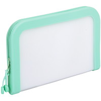 Pendaflex Premium Silicone Zip Pocket, Medium, Mint Green