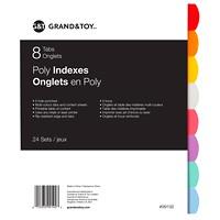 Intercalaires en poly Grand & Toy