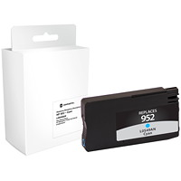 Grand & Toy Remanufactured HP 952 Cyan Ink Cartridge (L0S49AN)