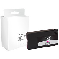 Grand & Toy Remanufactured HP 952 Magenta Ink Cartridge (L0S52AN)