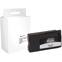 Grand & Toy Remanufactured HP 952XL Yellow High Yield Ink Cartridge (L0S67AN)