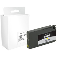 Grand & Toy Remanufactured HP 950XL Yellow High Yield Ink Cartridge (CN048AN)