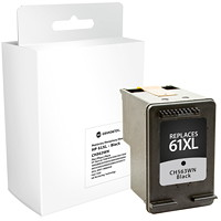 Grand & Toy Remanufactured HP 61XL Black High Yield Ink Toner Cartridge (CH563WN)