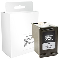 Grand & Toy Remanufactured HP 63XL Black High Yield Ink Cartridge