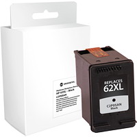 Grand & Toy Remanufactured HP 62XL Black High Yield Ink Cartridge (C2P05AN)
