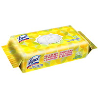 Lysol Disinfecting Wipes, Citrus Scent, 80/PK