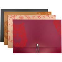 Chemise de classement extensible à 13pochettes Winnable, couleurs variées (aucun choix de couleurs pour les commandes sur livraison), format lettre