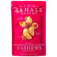 Sahale Snacks, Pomegranate Vanilla Flavoured Cashews Glazed Mix, 113 g, 6/CS