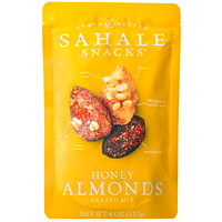 Sahale Snacks, Honey Almonds Glazed Mix, 113 g, 6/CS