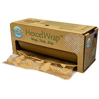 Papier d'emballage Hexcel Wrap Earth Hugger, papier kraft, 15 1/4 po x 300 pi