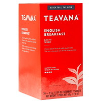 Teavana Tea Sachets, English Breakfast, 2.5 g, 24/BX