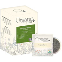 Organa Tea Pods, Panfired Green, 18/BX - Ontario and Montreal Residents Only