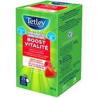 Tetley Tea Super Green Berry Boost Tea, 25/BX