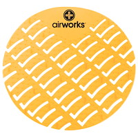 AirWorks EVA Urinal Screens, Citrus Grove Scented, 10/BX - British Columbia Only