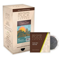 Wolfgang Puck Single Cup Coffee Pods, Rodeo Drive Medium Roast, 18/BX - Ontario, Montreal and Quebec Residents Only