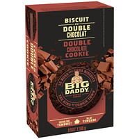 Big Daddy Cookies, Double Chocolate, 100 G, 8/BX