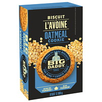 Big Daddy Cookies, Oatmeal, 100 G, 8/BX