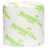 Lingettes Gentle Care Certainty, sans parfum ni alcool, 79/10po x 7po, rouleaux de 900 lingettes, boîte de 2