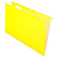 Dossiers suspendus renforcés de haute qualité Pendaflex, jaune, format légal, boîte de 25