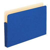 Pochettes de classement extensibles de couleur Pendaflex, bleu, format légal, extension de 31/2po, boîte de 25
