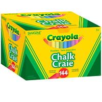 Craie sans poussière Crayola, couleurs variées, boîte de 144