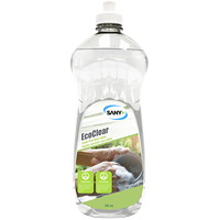 Sany+ EcoClear Liquid Dishwashing Detergent, Scent & Dye Free, 740 mL
