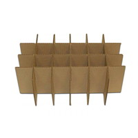 Crownhill Intersecting Partition Inserts, Kraft, 8