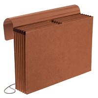 Pendaflex Expanding Partition Wallet, 6 Pockets, Kraft, Legal Size