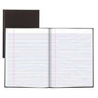 Blueline A95 Hardcover Notebook, Black, 10 1/2