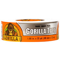 Gorilla Duct Tape, Silver, 48 mm x 22.8 m