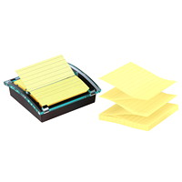 Post-it Super Sticky Pop-Up Lined Notes Value Pack With Dispenser, 4