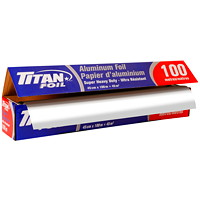 Titan Heavy-Duty Aluminum Foil Wrap, 18