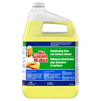 Nettoyant désinfectant professionnel pour planchers M. Net, 3,78l