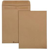 Quality Park Redi-Seal Self-Adhesive Envelopes, Natural Kraft, 9