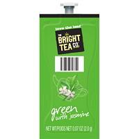Flavia The Bright Tea Co. Single-Serve Freshpacks, Green Tea With Jasmine, 100/CT