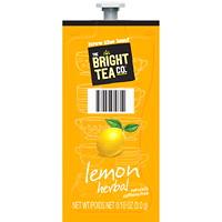 Flavia The Bright Tea Co. Single-Serve Freshpacks, Lemon Herbal Tea, 100/CT