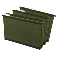 Dossiers suspendus renforcés SureHook Pendaflex, vert, format légal, capacité de 31/2po, emb. de 4