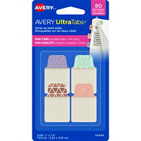 Avery UltraTabs Repositionable Multi-Use Mini Tabs, 1