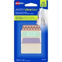 Avery UltraTabs Repositionable Multi-Use Tabs, 2