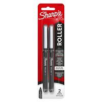 SHARPIE RB BLACK 2CT BLISTER