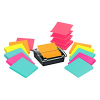 Post-it Super Sticky Pop-Up Notes Value Pack With Dispenser, 3