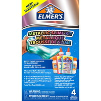 Elmer's Metallic Slime Kit, Teal/Pink