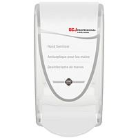 Distributeur de désinfectant mousse pour les mainsà poussoir SC Johnson Professional, blanc, capacité de 1l