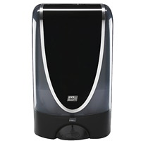 SC Johnson Professional Touch-Free Ultra Soap Dispenser, Black/Silver, 1.2 L Capacity