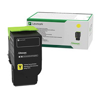 Lexmark Yellow High Yield Return Program Toner Cartridge (C231HY0)