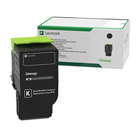 Lexmark Black High Yield Return Program Toner Cartridge (C231HK0)