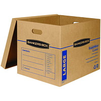 Bankers Box SmoothMove Classic Storage Boxes, Large, 17